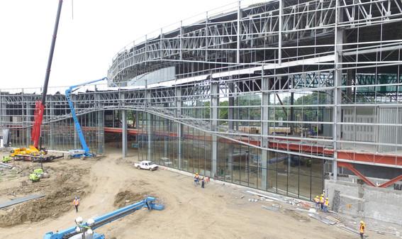 Centro de Convenciones de convention center under construction