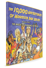 An illustrated Book Cover depicting a group of eclectic kids showcasing their unqiue, individual skills