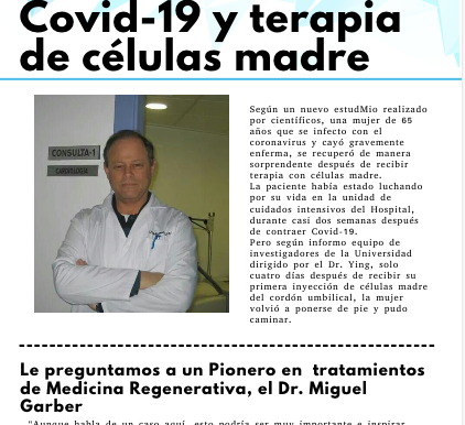 CCOVID-19 y células madre