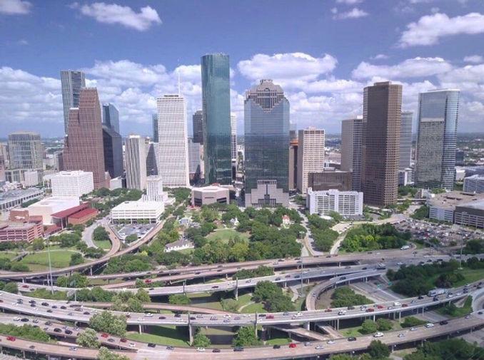 Houston Drone Shot