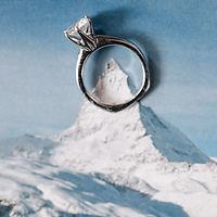 Liebesbekenntnis | Julia Pöhler | Nicole Crettol | Traurednerin |  Winterhochzeit | Schweiz