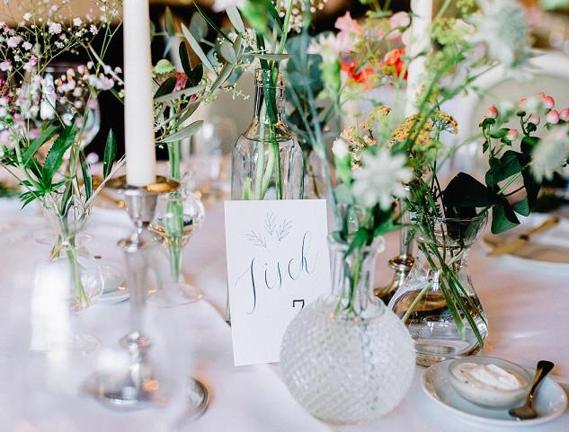 Vintage Vasen von Liebesbekenntnis