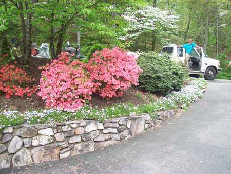 Pebble Brook Landscaping Lawn Care Blacksburg VA.