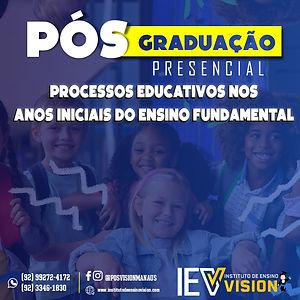 PROCESSOS EDUCATIVOS NOS ANOS INICIAIS D