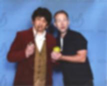 Bilbo and Billy Boyd
