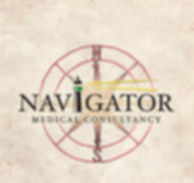 navigator medical logo with compass
