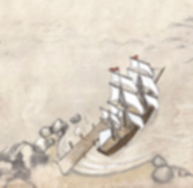 health map, ship, navigator medical
