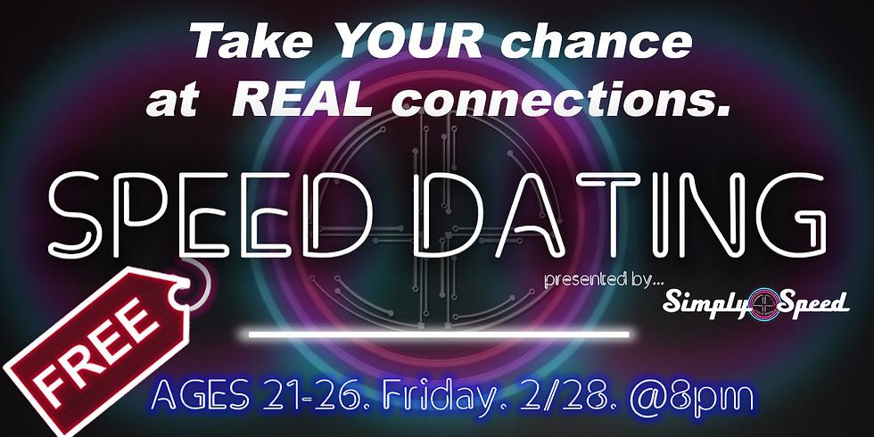 Atlanta Speed Dating   AGES 21-26   Atlanta, GA Singles Event