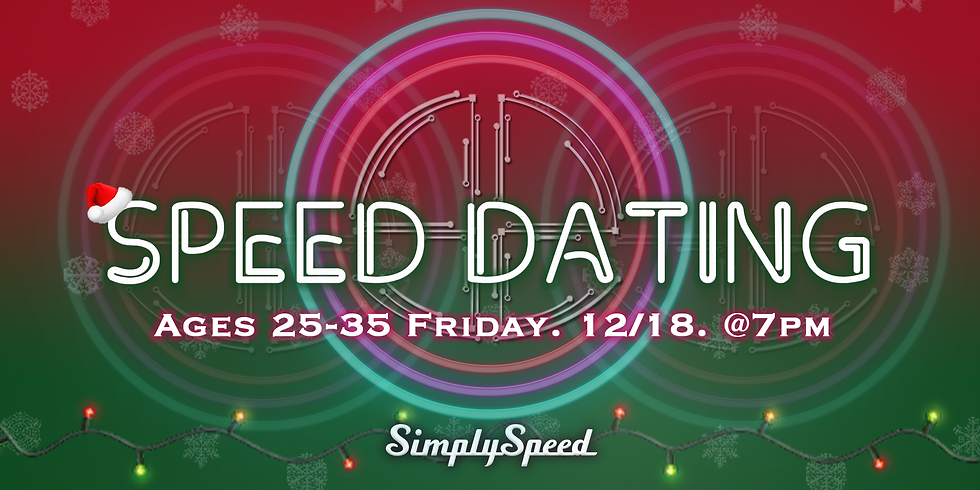 ***LADIES SOLD OUT*** Holiday Speed Dating Atlanta | Ages 25-35 | Singles Event Atlanta