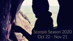 Scorpio Season 2020