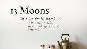 New Course Offering: 13 Moons Lunar Intensive