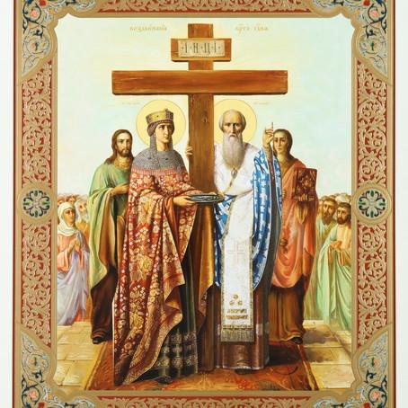 Канун праздника Воздвижения Креста Господня