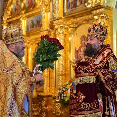 День Ангела Его Высокопреосвященства Архиепископа Тихона
