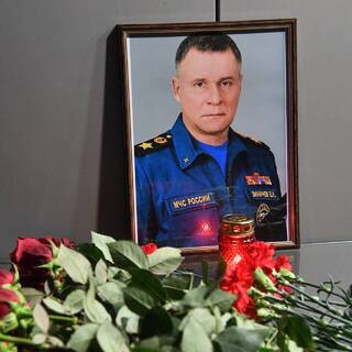 Заупокойная лития по погибшему главе МЧС России Евгению Зиничеву