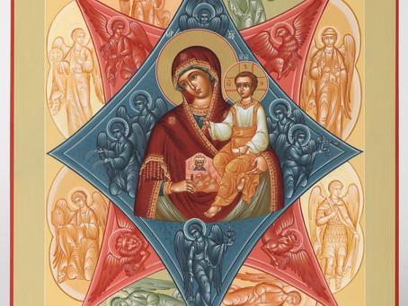 Сотрудники МЧС приняли участие в молебне в честь образа Божией Матери «Неопалимая Купина»