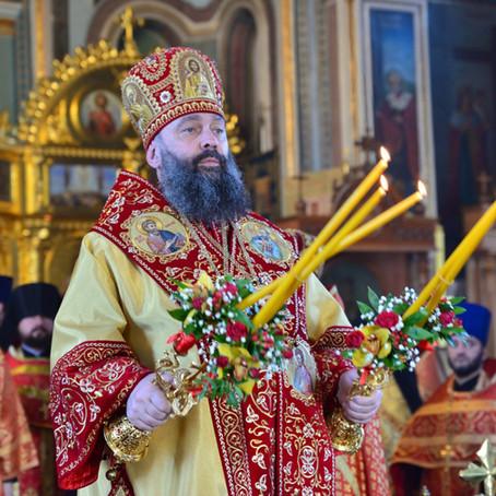 Вечерня в день Пасхи Христовой