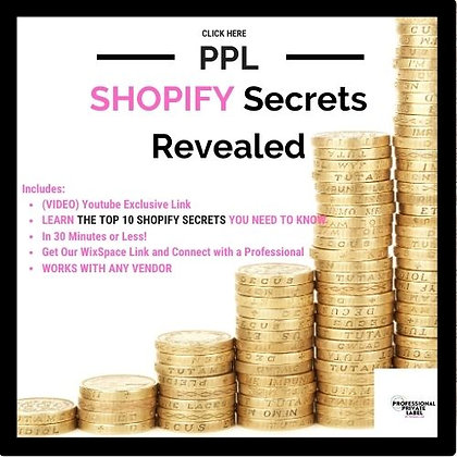 Shopify Secrets Revealed (Instant Email)