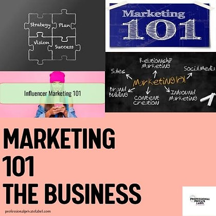 Marketing 101 The Business