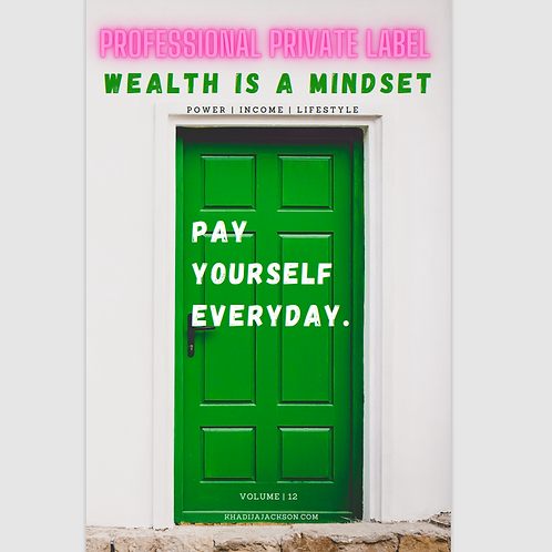 """Wealth Is A Healthy Mindset!"" (E-video)(Instant Email)"