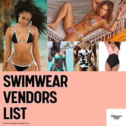 Swimwear/Swimsuit Wholesale Vendors List
