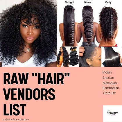 Exclusive Hair Vendors List