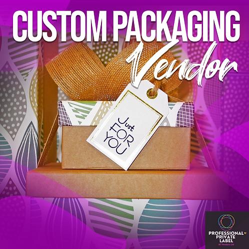 Custom Packaging Vendor List