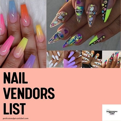 Nail Vendors (Instant Email)