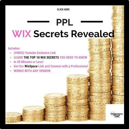 Wix Secrets Revealed
