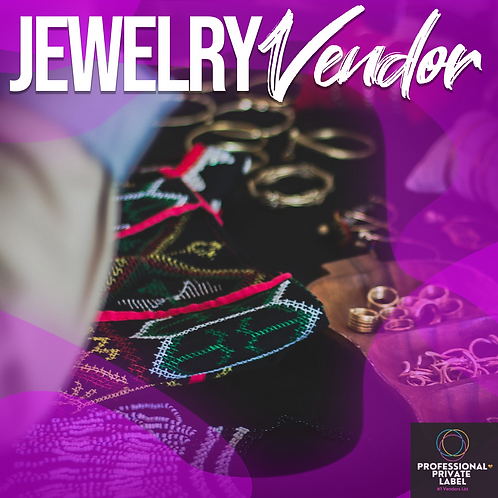 Jewelry Vendors List (Instant Email)