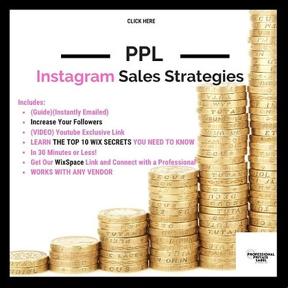 Instagram Sales Strategies (Guide)(Instantly Emailed)