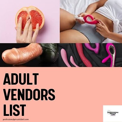 Pleasure Vendors (Instant Email) For The Grown and Sexy