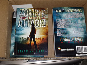 Zombie Attack Army of the Dead... now in paperback!