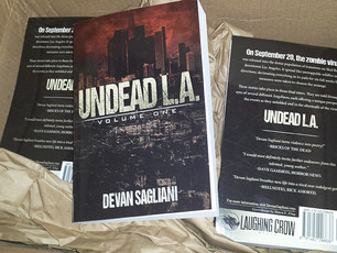 New Undead L.A. 1 Paperbacks Now Available!