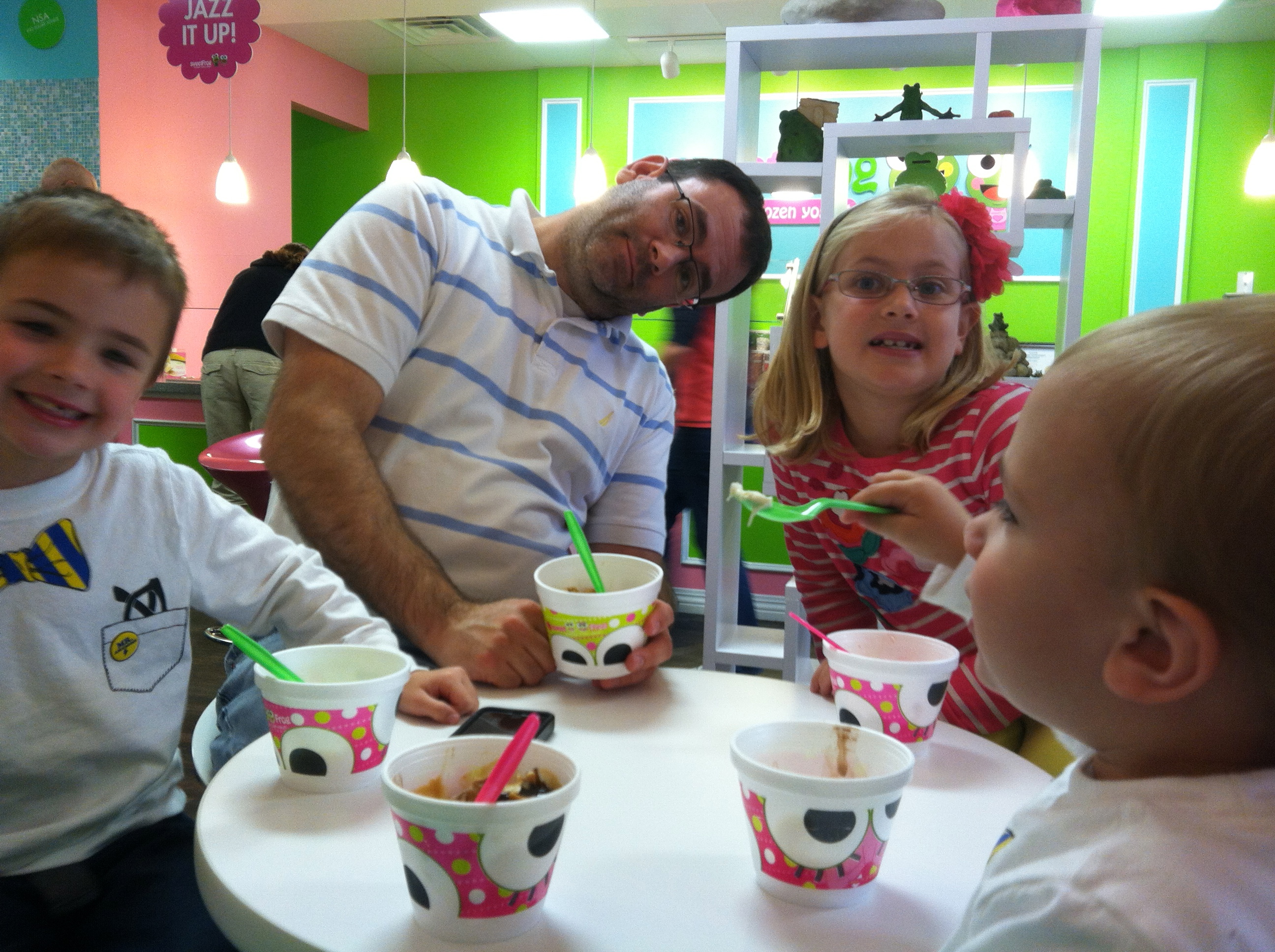 Fundraising event: Sweet Frog