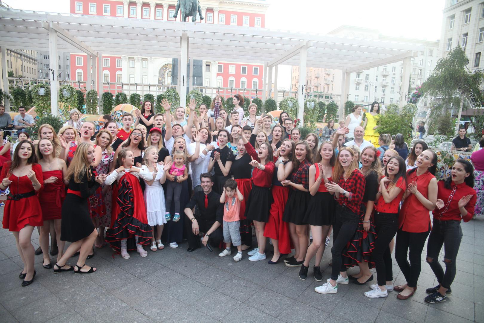 Фестиваль Варенья на Тверской площали