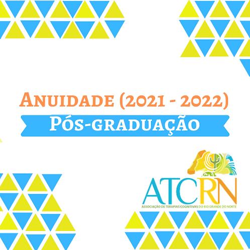 Anuidade da ATC-RN  Estudante de Pós-Graduação