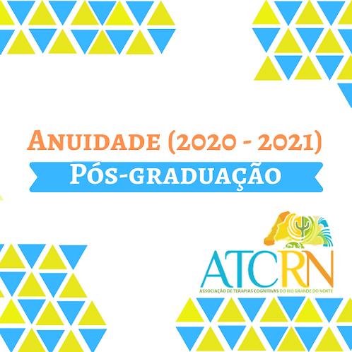 Anuidade da ATC-RN| Estudante de Pós-Graduação