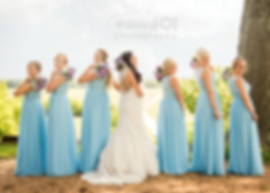 wedding, bridesmaids, vineyard, bouquets