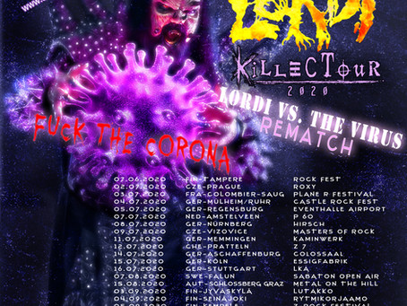 KILLECTOUR: LORDI vs Virus REMATCH