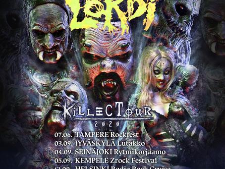 FINLAND TOUR UPDATE