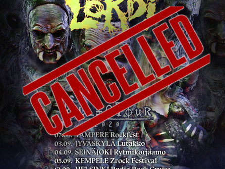 FINLAND DATES CANCELLED