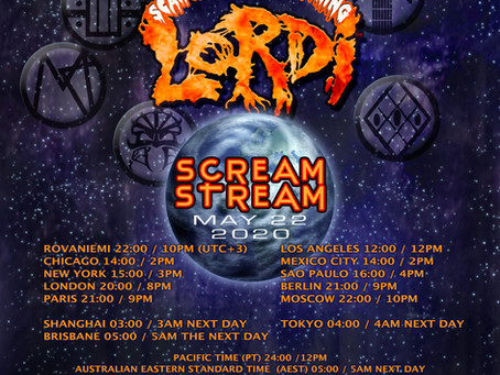 Lordi's Scream Stream is turning into a whole night entertainment megashow
