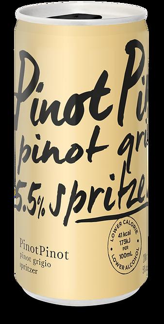 PinotPinot Pinot Grigio Spritzer 12x200ml cans