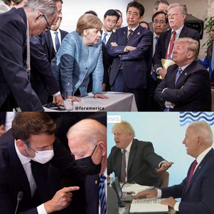 We HAD a President who stood up to the rest of the world. Now we have one who gets put down by the world.