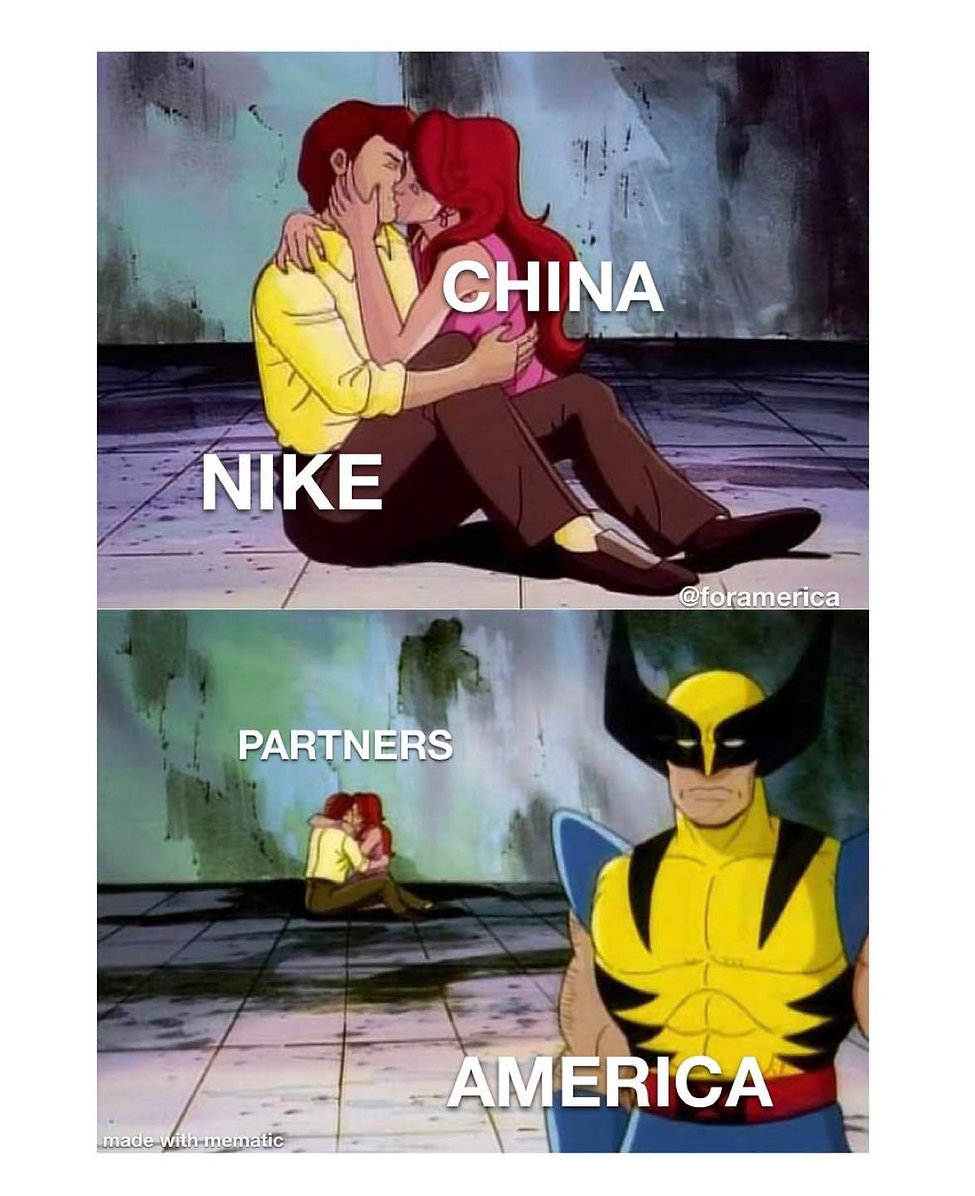 """Nike Chief Executive Officer John Donahoe: """"Nike is a brand that is of China and for China."""""""