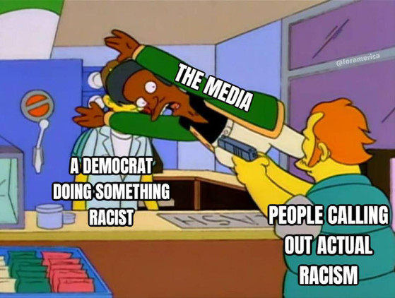 The media is liberal Kevlar.