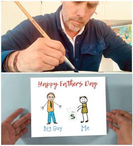 I'm an artist now, pops!