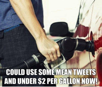 Is there anyone out there excited about paying higher gas prices and more taxes?