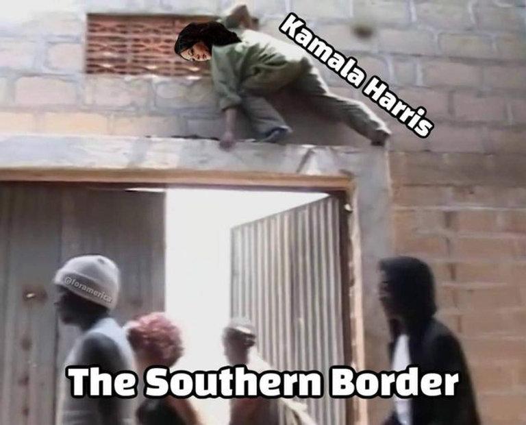 The border won't bite.