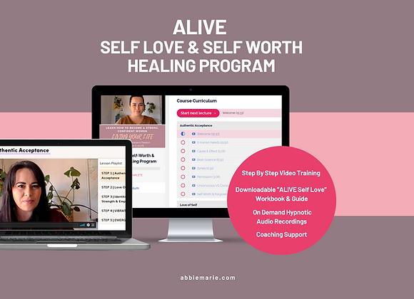 ALIVE Self Worth & Self Love Program